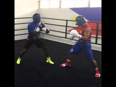 Kenny Sims Jr sparring Manny Pacquiao thoughts