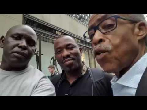 #Gabon - Rev Al Sharpton aux Gabonais, n'abandonnez pas la lutte pour la justice et l'équité