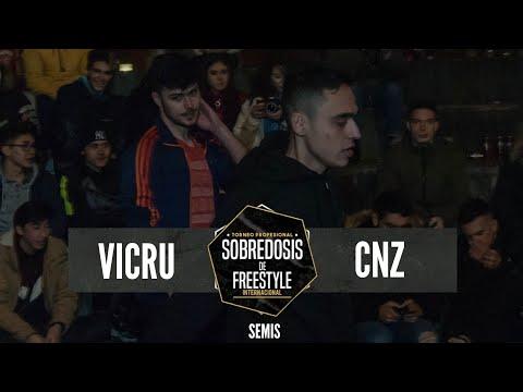 VICRU Vs CNZ - Semis #SOBREDOSISDEFREESTYLE