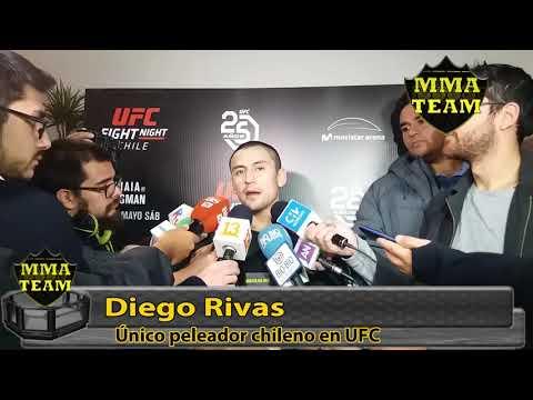 Diego Rivas explica su derrota y señala cuando podría estar de vuelta a UFC