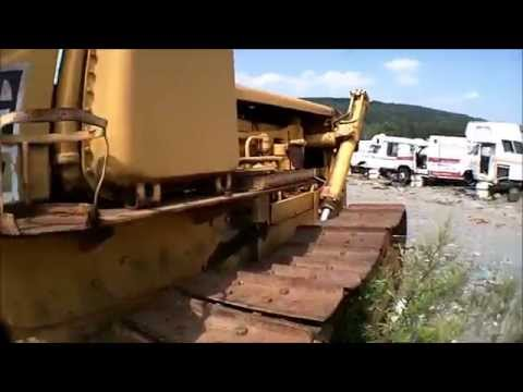 Heavy Equipment In The Junkyard (abandoned Machines)