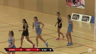 Netball |Manukura vs  Villa Maria College| Sky Sport