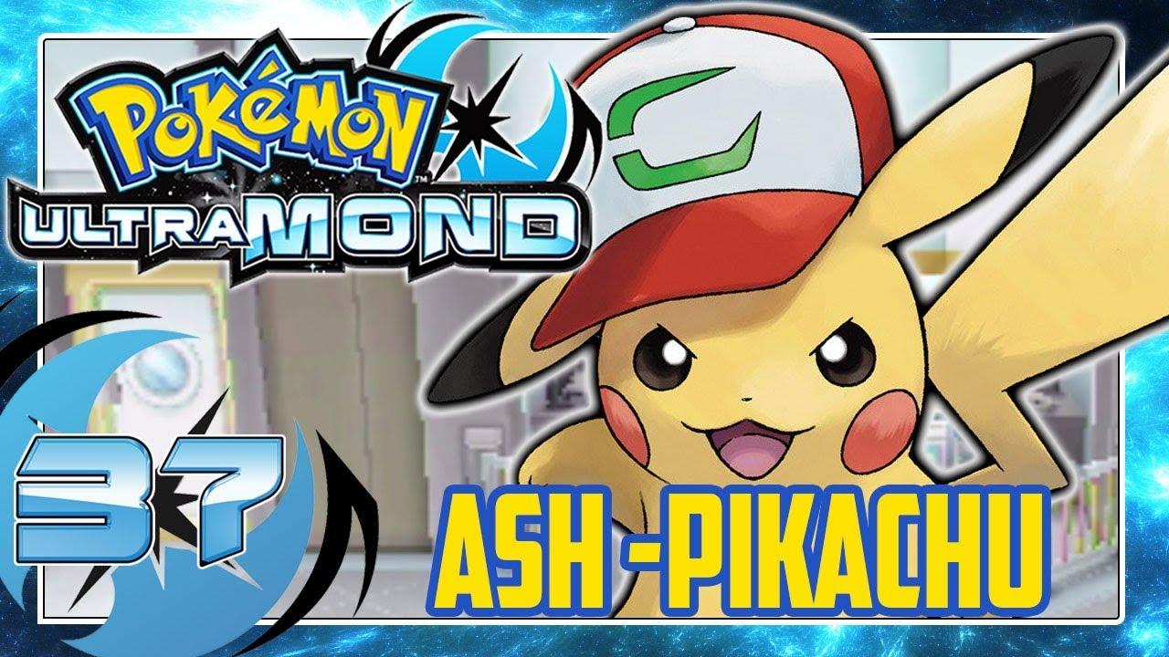 Pokémon Ultramond Part 37 Das Ash Pikachu Qr Code Für Euch