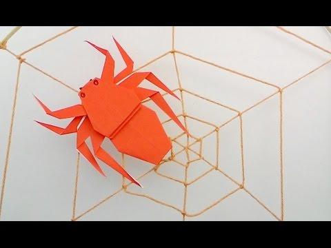 origami spider funnydogtv