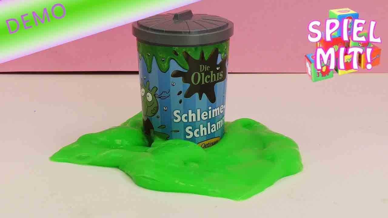 die olchis schleim original olchis slime gr n und