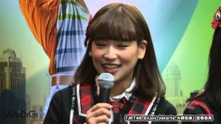 JKT48仲川遥香らジャカルタの魅力をPR!「JKT48 Enjoy Jakarta 大使任命」記者会見(1)