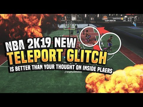 NEW TELEPORT GLITCH! OVERPOWERED OFF BALL CHEESE IS BETTER ON INSIDE PLAYERS THAN YOU THINK NBA 2K19