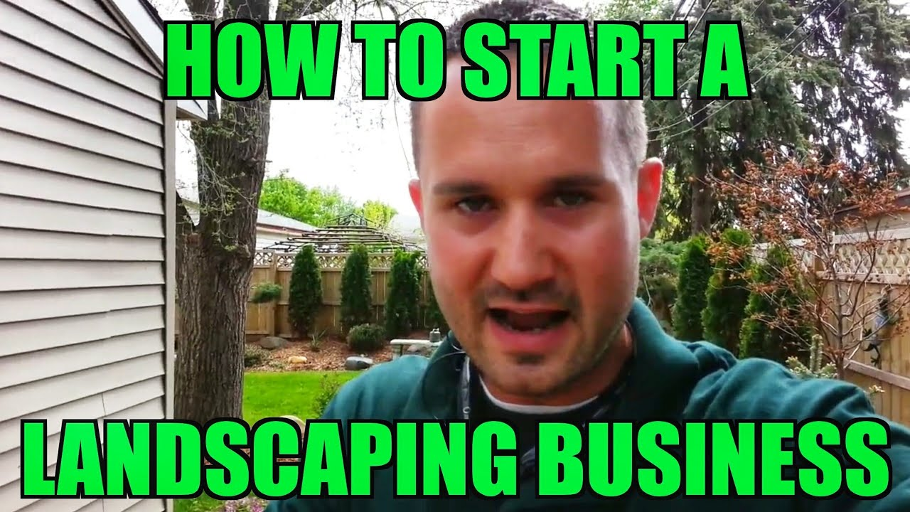 How to start a landscaping business right now with no for Landscaping business