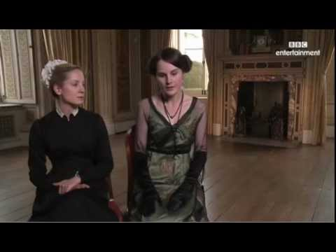 Joanne Froggatt and Michelle Dockery Downton Abbey