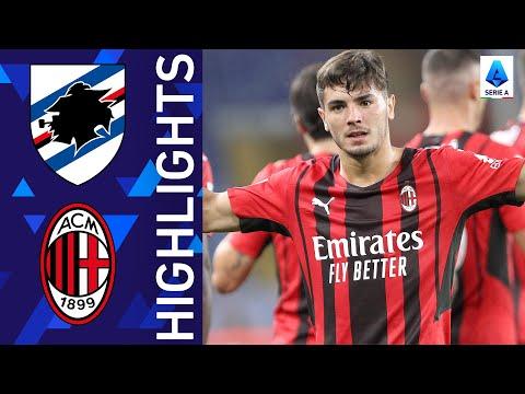 Sampdoria AC Milan Goals And Highlights