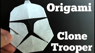 Origami Clone Trooper (Star Wars Attack of the Clones)
