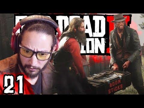 BLOW THE BRIDGE : Red Dead Redemption 2 Part 21 thumbnail