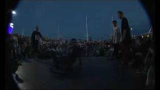 Hunters vs RuffneckAttack FOOTWORK BATTLE YALTA BEACH 2008 (UKRAINE)