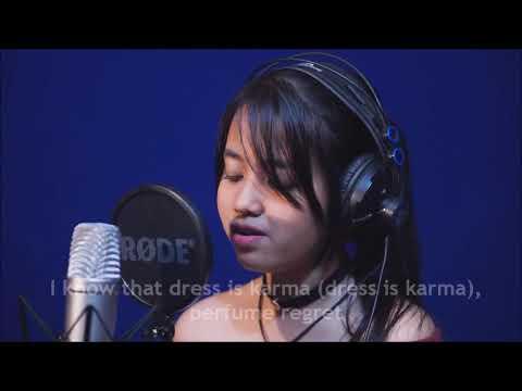 Attention - (Lirik Video) Cover By Hanin Dhiya