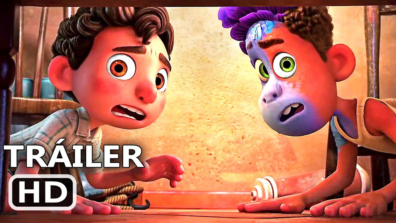 "LUCA ""Monstruos Marinos"" Clip Español DOBLADO (Pixar, 2021)"
