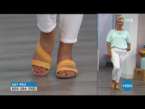 da3f0af48c22 Naturalizer Wyn Leather Sandal - YouTube
