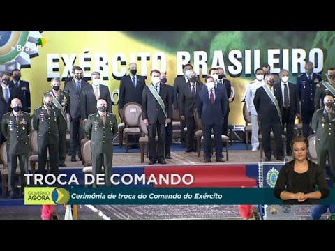 #AoVivo: Solenidade de Passagem do Cargo de Comandante do Exército