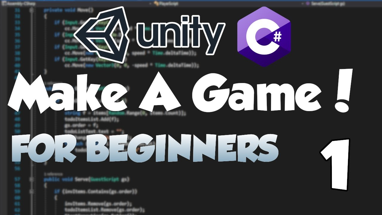 Building Your First Game In Unity 3D! Learning C# and Unity Game Development Tutorial for Beginners!