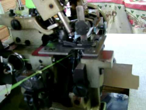 Regulagem de Overlock pt1