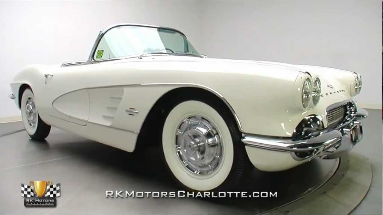 133112 1961 Chevrolet Corvette Youtube Chevy Stingray