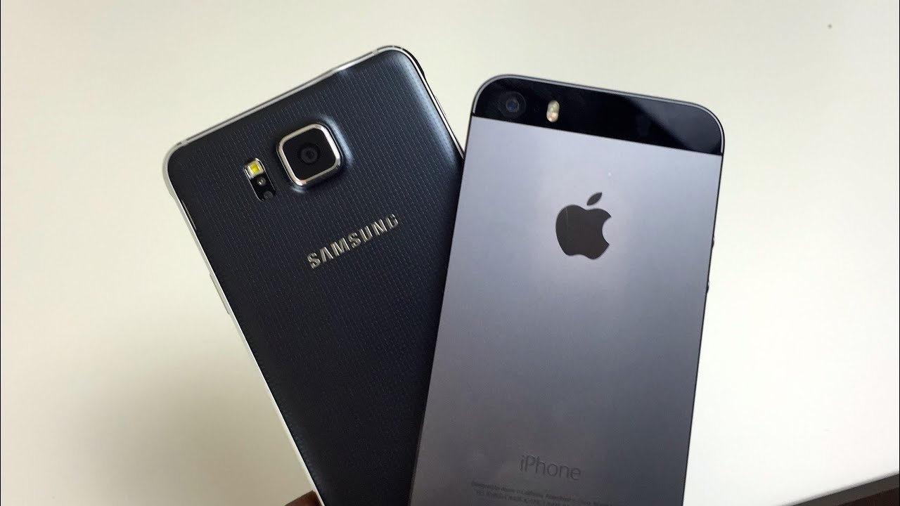 iphone 5s vs samsung a5 2019