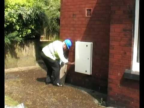 Electricity Meter Box Repair Using Ritherdon R7 Meter Box