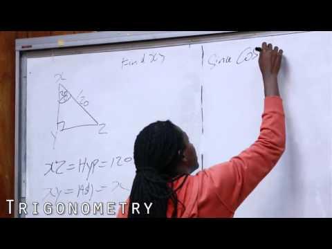 Damion Crawford CXC Mathematics Trigonometry 1