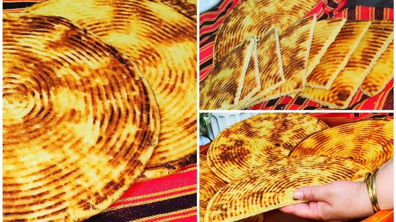 لبناني المبتدئات خبز الفطير او الرخسيس بمقادير مضبوطة ناجح طري و الخبزة المسمومة 😢