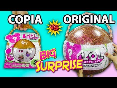 LOL big surprice FALSA | Marinette y Adrien descubren una muñeca LOL gigante FALSA