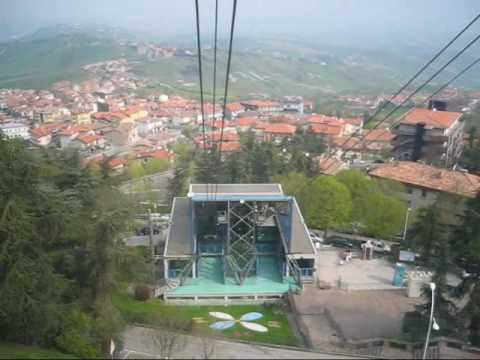 Funivia ( 50+1 ATW) Borgo Maggiore - San Marino cable car