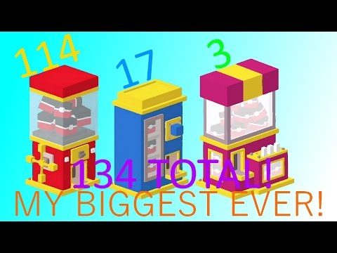 "Disney Crossy Road ""Huge Prize Opening #7!"" (60 FPS)"