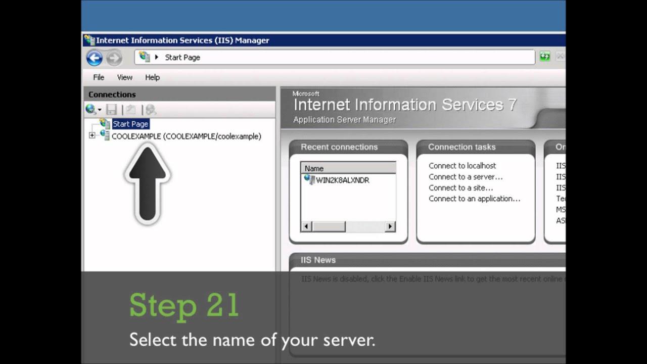 Installing Ssl Certificate On Microsoft Iis Ssl Installation Guide