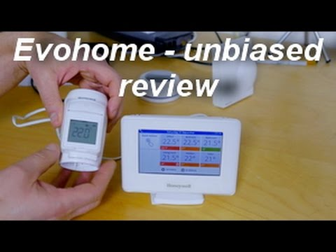 Honeywell Evohome multi zone thermostat system overview