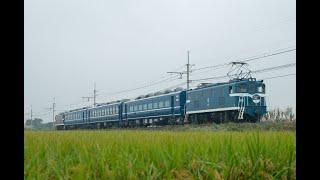 【12系・14系甲種輸送】秋雨の秩父鉄道線