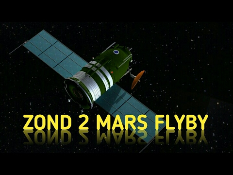 Zond 2 Spacecraft | Mars Flyby | Russia | 6th Attempt | 1964 Mission