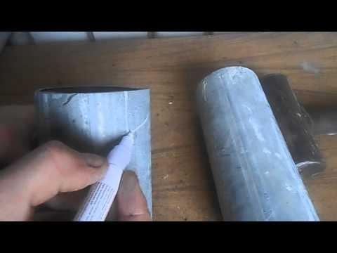 Как начинающему подогнать врезку труба в трубу одного диаметра