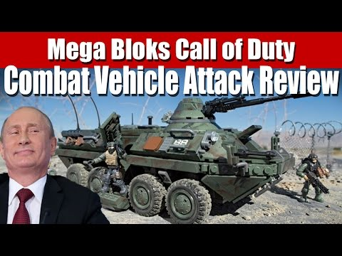 Mega Bloks Call of Duty - Combat Vehicle Attack Review (BTR-80)