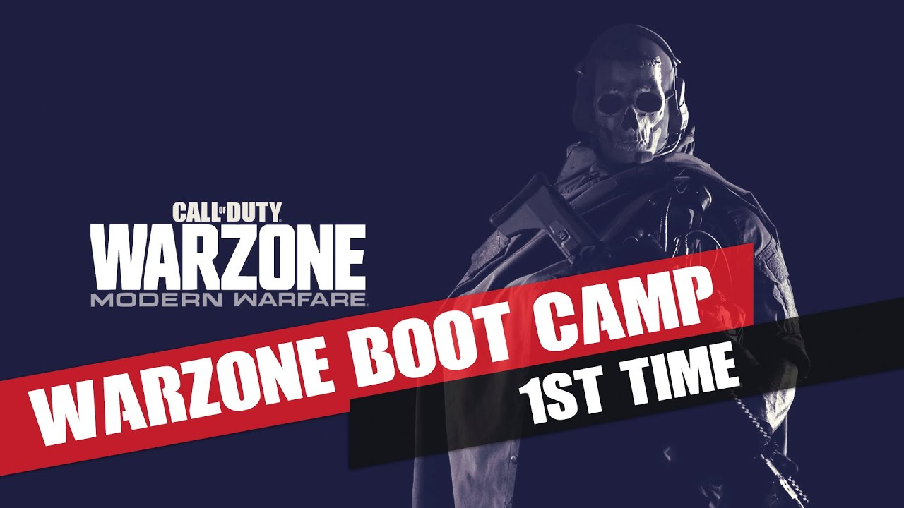 First time #Call_of_Duty Warzone Boot Camp