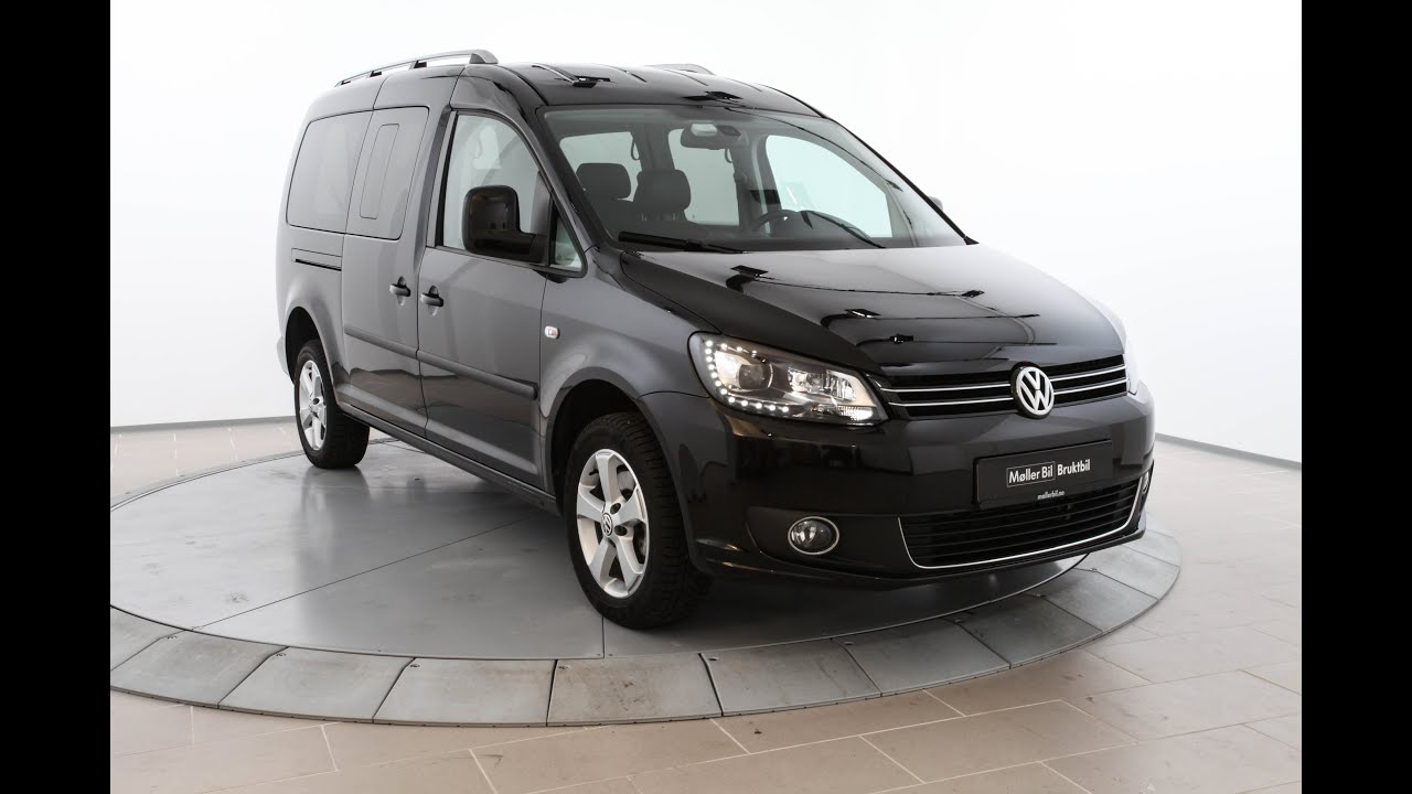 volkswagen caddy maxi 2 0 140 tdi 4motion highline dsg 2015 youtube. Black Bedroom Furniture Sets. Home Design Ideas