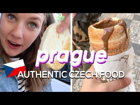 Trying authentic CZECH food in PRAGUE! Must-eat dishes and restaurants for travelers!