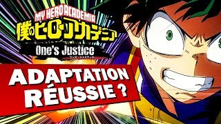 MY HERO ACADEMIA ONE'S JUSTICE : Adaptation en jeu réussie ? | GAMEPLAY FR