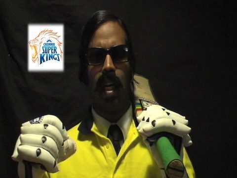 """Chennai Super Kings Rap"" : Wilbur Sargunaraj"
