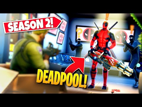 *NEW* UPCOMING SEASON 2 DEADPOOL *BOSS BATTLE* EVENT APPEARING IN-GAME! (Battle Royale)