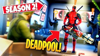nEW UPCOMING SEASON 2 DEADPOOL BOSS BATTLE EVENT APPEARING IN-GAME! (Battle Royale)