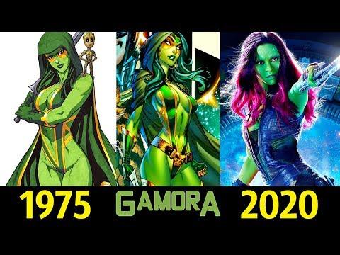 ✅ Гамора - Эволюция (1975 - 2020) ! Все Появления 👊!