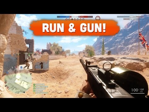 RUN & GUN! - Battlefield 1 | Road to Max Rank #12 (Multiplayer Gameplay)