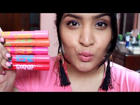 *NEW* Maybelline Baby Lips Candy Wow Lip Balm Review & Swatches | All Shades