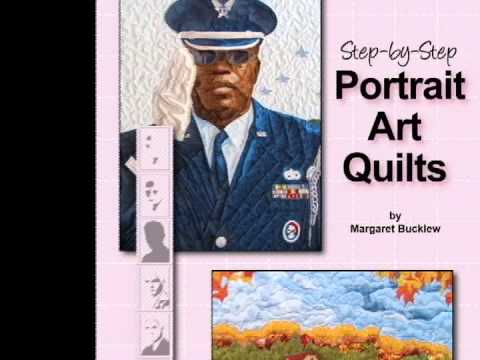Learn to create realistic portrait and pictorial quilts - YouTube : pictorial quilts technique - Adamdwight.com