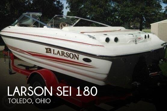 unavailable used 2003 larson sei 180 in toledo ohio youtube rh youtube com 2001 Larson Boat Bimini Top 2001 Larson 212 LXI