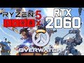 Overwatch on ryzen 5 3600x rtx 2060 1080p benchmarks mp3